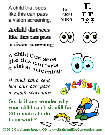 what is vision therapy graphic